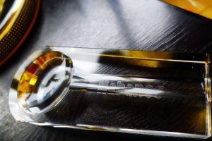 水晶雪茄煙灰缸CRYSTAL ASHTRAY ASH-1-1