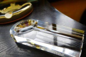 水晶雪茄煙灰缸CRYSTAL ASHTRAY ASH-1-2
